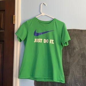 Green Nike Tee